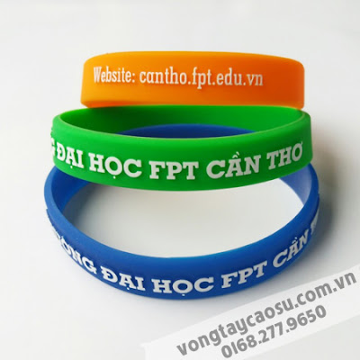 Vòng tay cao su ĐH FPT Cần Thơ