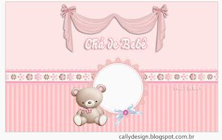 Etiquetas para Imprimir Gratis de Osita con Bebé.