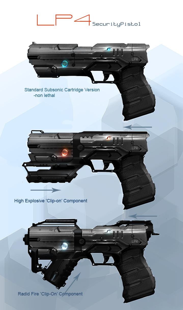DSNG'S SCI FI MEGAVERSE: SCI FI GUNS, WEAPONS, HANDGUNS ...