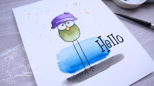 Heather's Hobbie Haven - Bird Art - Water Coloring