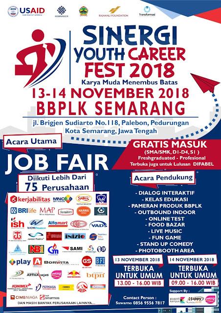 Job Fair Semarang GRATIS