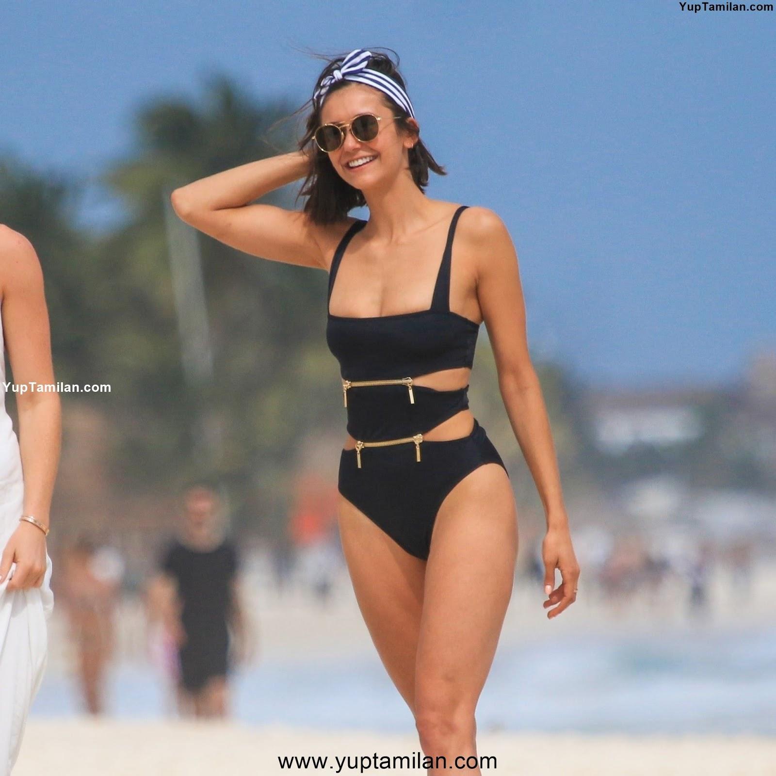 Nina Dobrev Sexy Bikini Pictures