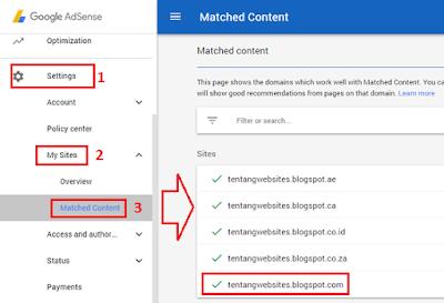 Cara memasang iklan matched content di blog 2017