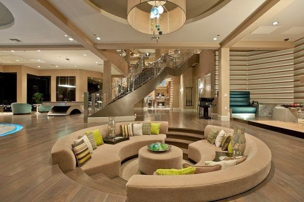 Perfect Conversation Pits and Sunken Sitting Areas in Your Home!