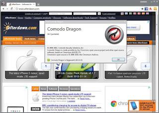 تحميل متصفح سريع جداً Comodo Dragon