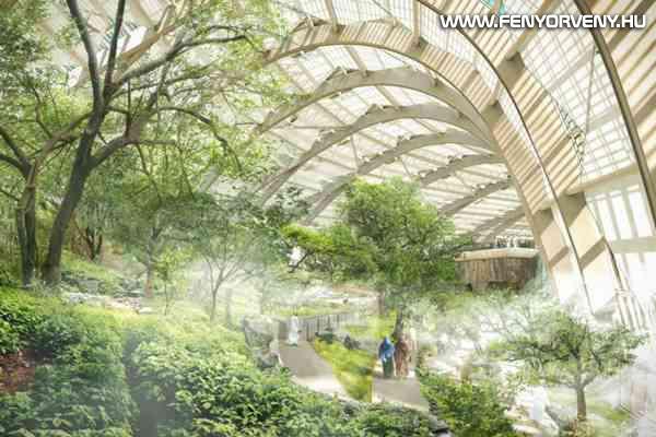 Sivatagban épül meg a világ legnagyobb botanikus kertje