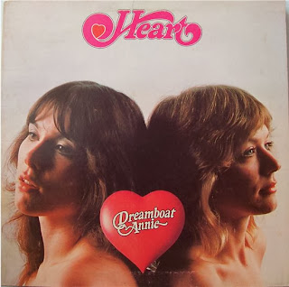 Ann and Nancy Wilson Heart Dreamboat Annie 1976 Record Album