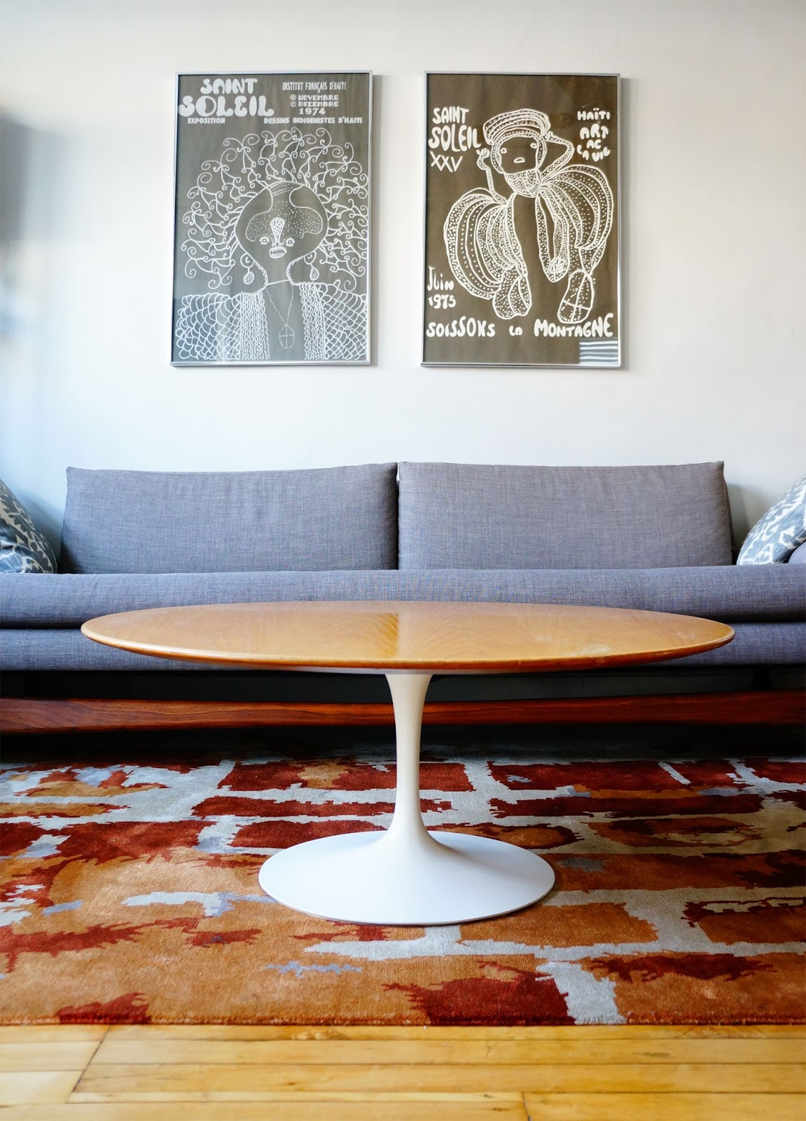 Magnificent Str8Mcm Eero Saarinen Coffee Table For Knoll Pabps2019 Chair Design Images Pabps2019Com