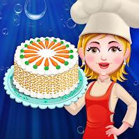 العاب بنات طبخ لعبة تحضير كعكة 2020