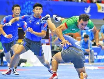 South Korea Kabaddi World Cup Team