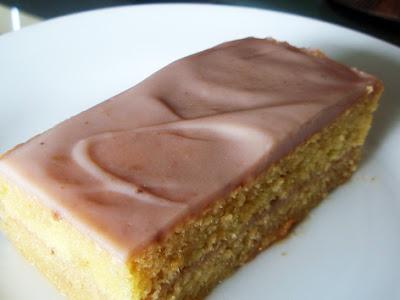 tarta con crema de castañas