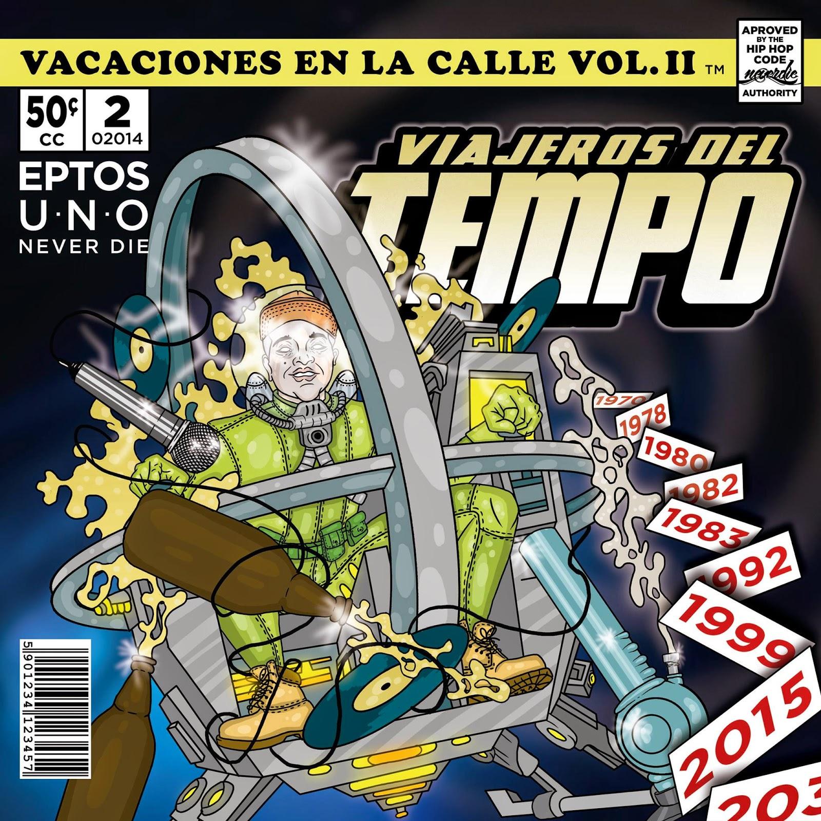 Eptos Uno - Vacaciones En La Calle Vol. II [2014]