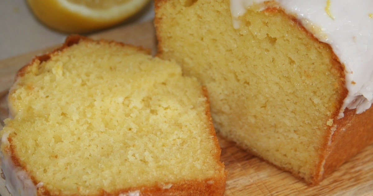 Lemon Loaf Made With Cake Mix And Pudding