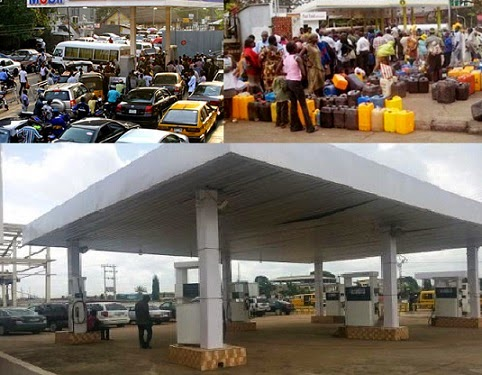 petrol filling station pictures