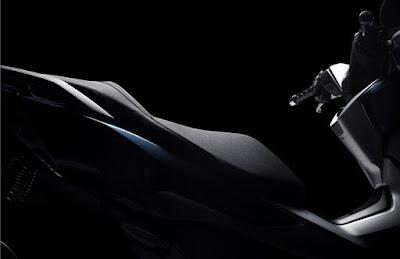 Honda Forza 300 2018 atau Forza 250 desain jok seat modern