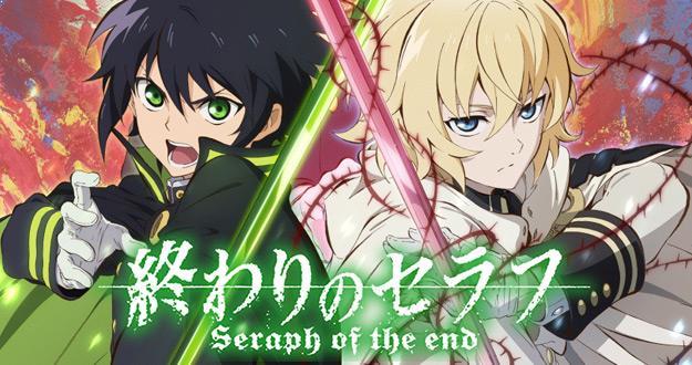 Owari no Seraph - Anime Tokoh Utama Menggunakan Pedang