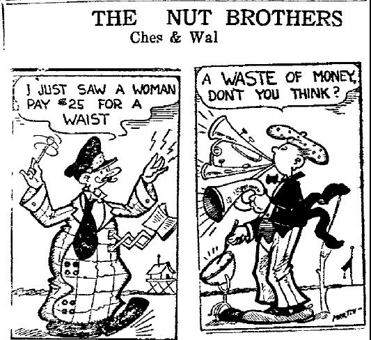 Screwball Comics: From Little Aherns Grow Mighty Jokes