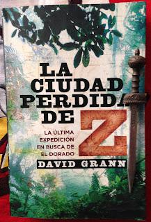 Portada del libro La ciudad perdida de Z, de David Grann