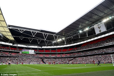 Tottenham confirm UEFA deal to play champions league match at Wembley