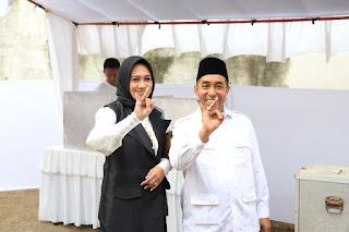 <b>Pasangan AMAN Menang di TPS Mori Mencoblos</b>
