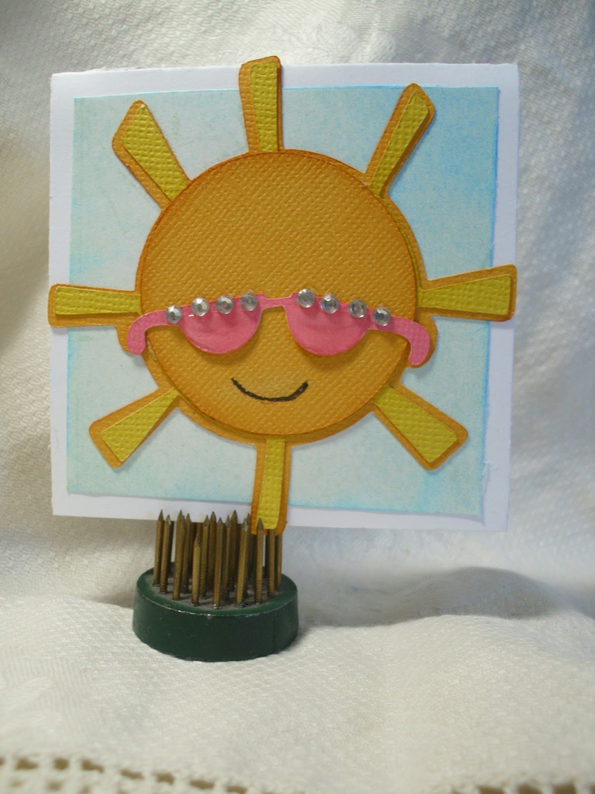 Shellys Craft Blog: Wearing Sunglasses In My Cricut Craft Room