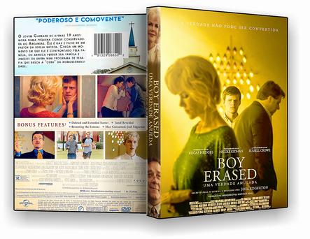 CAPA DVD – Boy Erased Uma Verdade Anulada – DVD-R