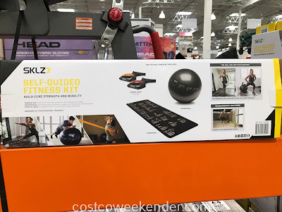 Costco 1156083 - SKLZ Self-Guided Fitness Kit: your very own gym at home