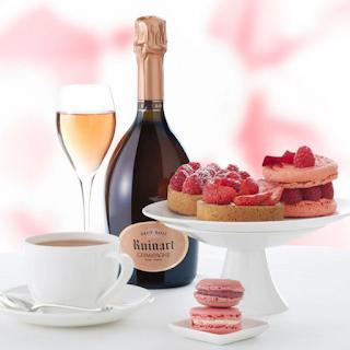 beaux-vins champagne rosé dessert vin accord