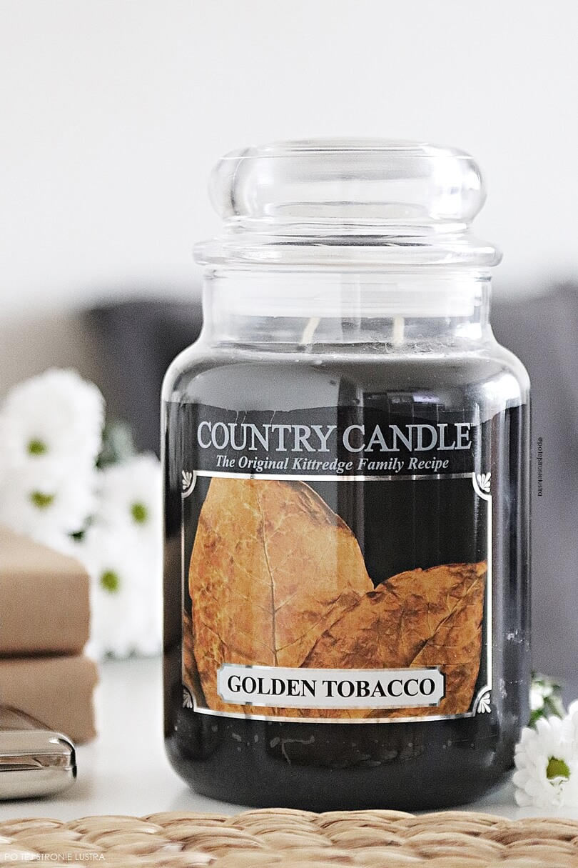country candle golden tobacco nowość 2018