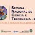 Inscrições abertas para a Semana Nacional de Ciência e Tecnologia do IFPE