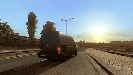 Mercedes-Benz Sprinter Van Long for traffic