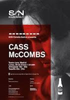 Concierto de Cass McCombs en Teatro Lara