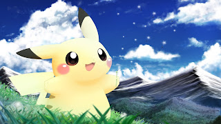 Pikachu Wii U Background