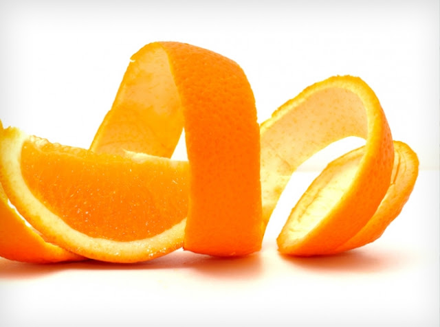 imagen  La Cascara De Naranja Y De Plátano