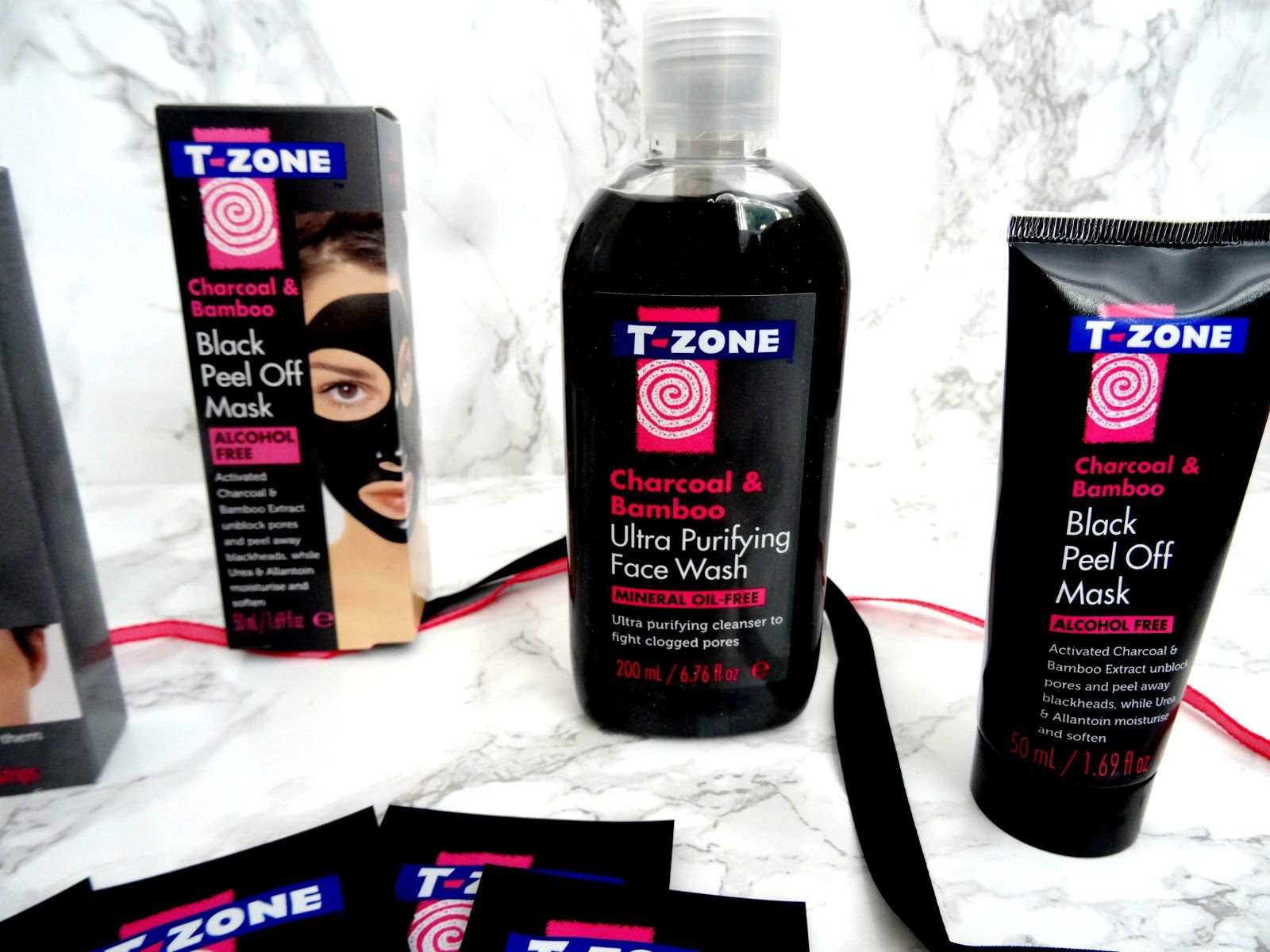 T-Zone's New Charcoal&Bamboo Skincare Range