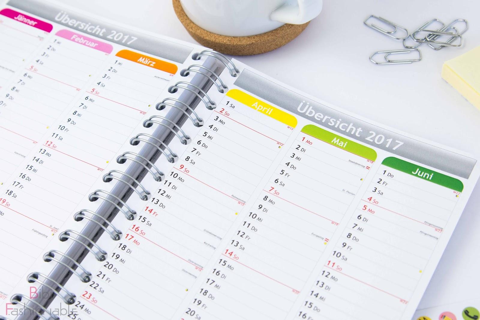 Personalplanner Jahreskalender