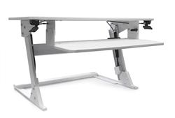 Systematix Volante desktop sit to stand attachment