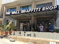 the wall graffiti shop - Bethlehem