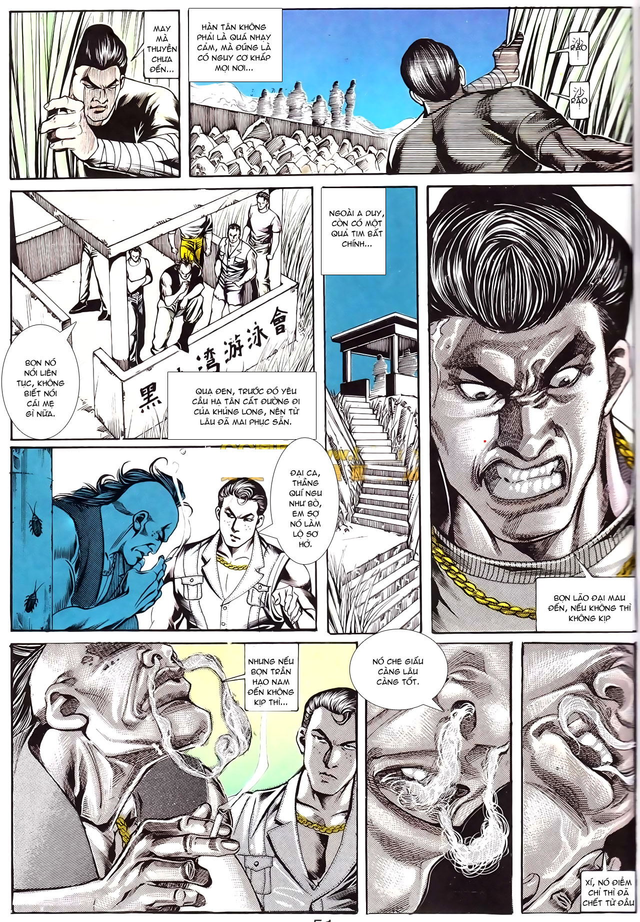 Người Trong Giang Hồ chapter 168: người đẹp dưới nước trang 7