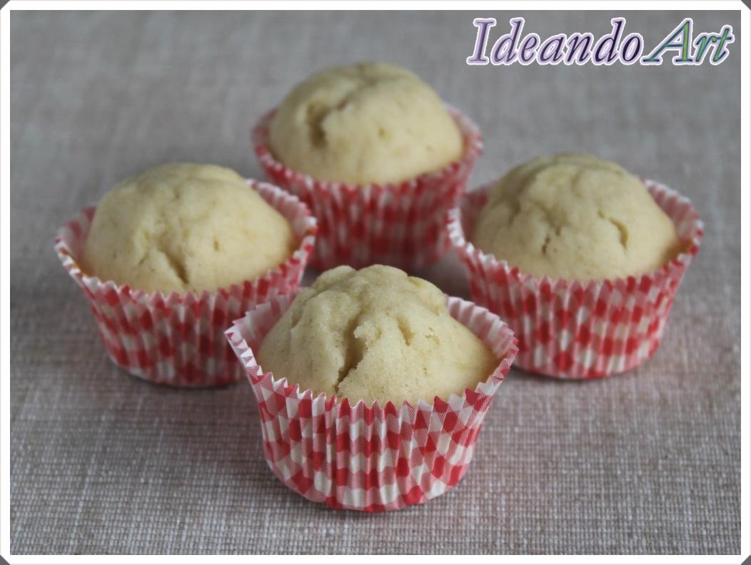 Mini cupcakes piña