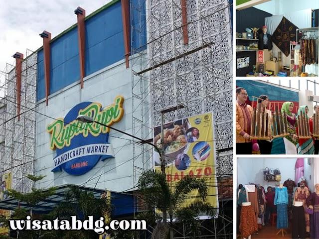 Rupa Rupi Handicraft Market Bandung, Sentra Produk Kerajinan Jawa Barat