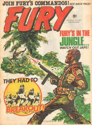 Marvel UK, Fury #18