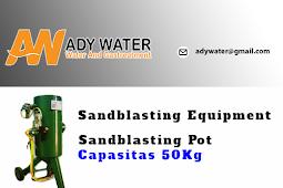 Lihat Harga Jual Mesin Sandblasting Mini di Medan!