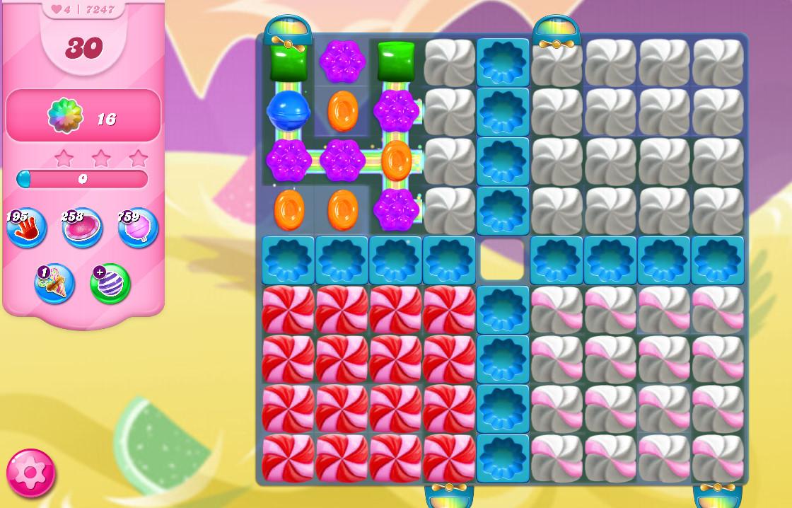 Candy Crush Saga level 7247
