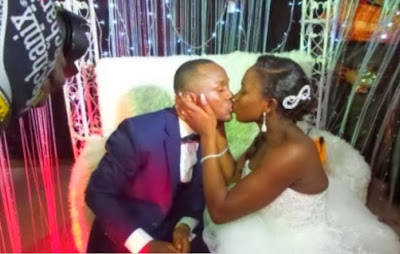 comedian ushbebe white wedding pictures