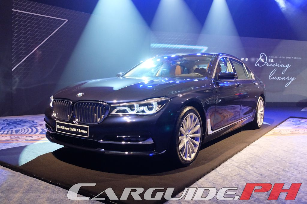 Bmw Philippines Launches All New 7 Series Philippine Car News Car