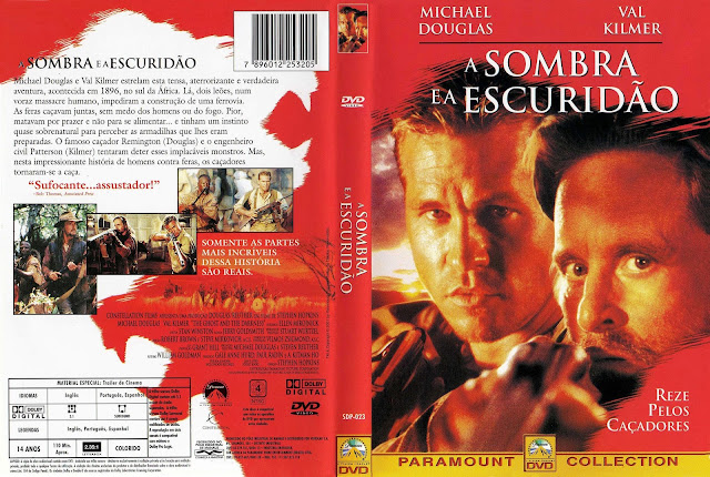 Capa DVD A Sombra e a Escuridão