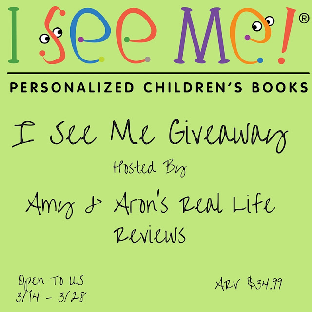 I See Me Personalized Children's Book #Giveaway Ends 3/24