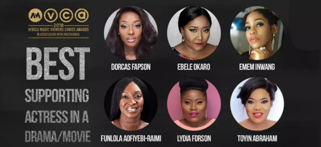 2018 Africa Magic Viewers' Choice Awards Nominees: Vote For Your Fave!