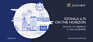Joomla version 4 (Alpha 9) Released - the new best CMS for year 2020